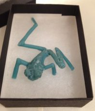 Tree Frog early wax - Emma Keating Jewellery
